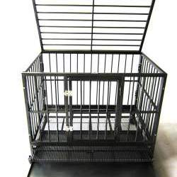 Square Tube Dog Cage
