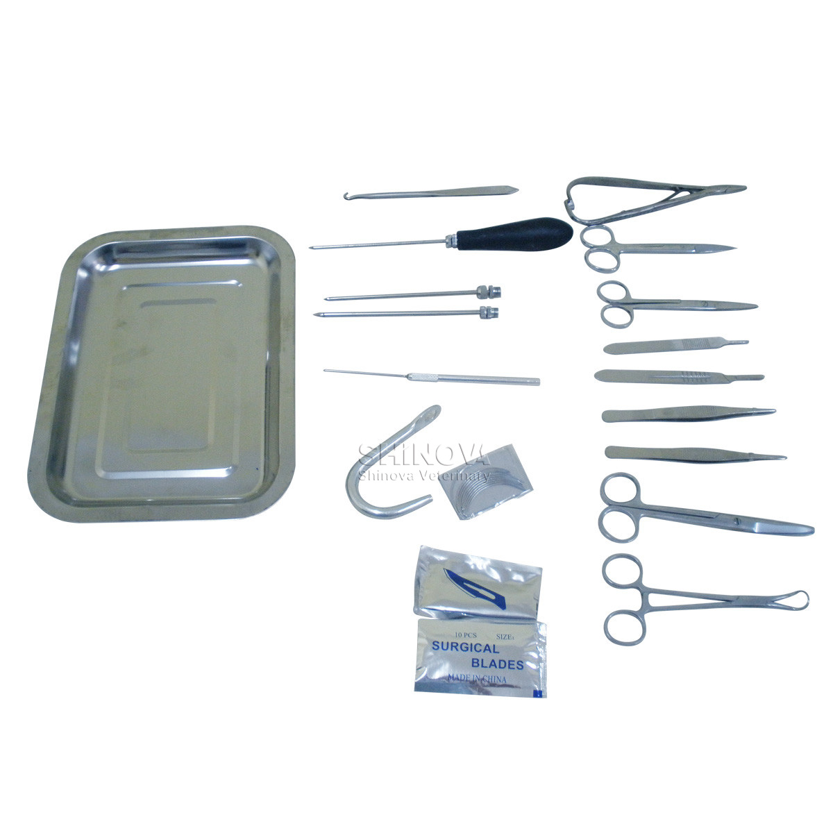 Small Animal Surgical Instrument Case Shinova Vet