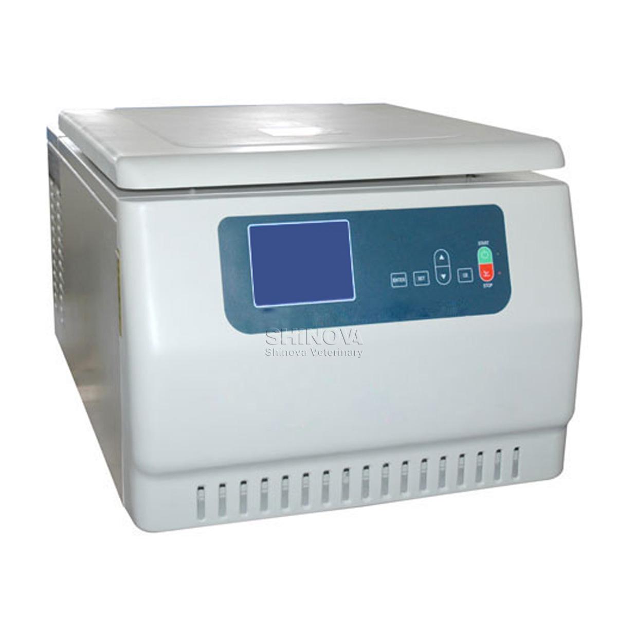 Tabletop High Speed Refrigerated Centrifuge Shinova Vet
