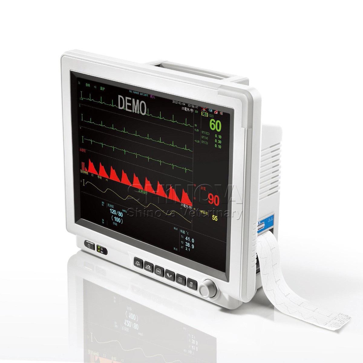 Multi Parameter Monitor Shinova Vet Veterinary Ultrasound